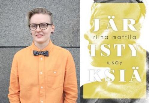 Riina Mattilan ja Järistyksiä-kirjan kuvat