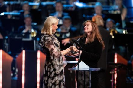 Auður Ava Ólafsdóttir, vinnare av Nordiska rådets litteraturpris 2018 © Johannes Jansson/norden.org