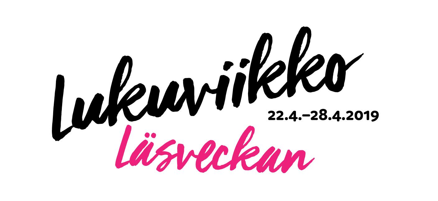 Lukuviikko 2019 - logo