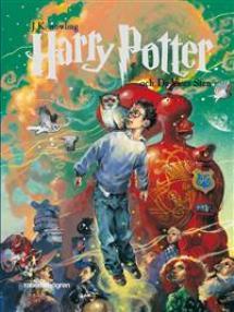 Harry Potter och de vises sten - pärmbild