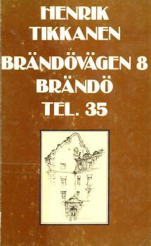 Brändövägen 8, Brändö, tel. 35 (1975)