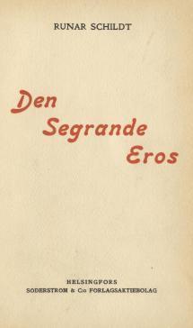 Den segrande Eros (1912)