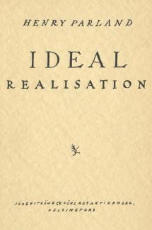 Idealrealisation (1929)